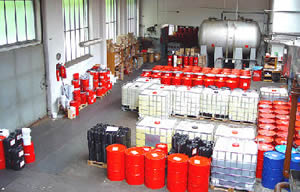 Industrieservice Neubert in Amtsberg in Sachsen, Gase, Öle, Schmierstoffe